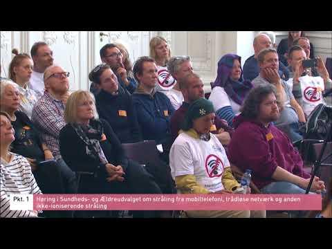 Wireless Radiation Health Effects: Prof. Olle Johannson, Neuroscientist Danish Parliament hearing