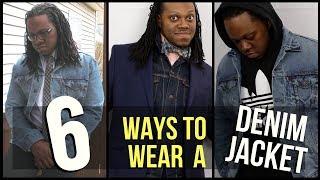 How to Style the Denim Jacket | 6 Ways to Wear A Denim Jacket