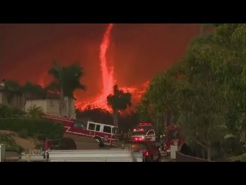 'Firenados' Break Out In San Diego County, California