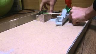 反射装置を作ってる間に作りたくなったので、取り敢えず簡単に作って見...