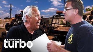 Fuerte pelea padre vs. hijo | Chatarra de oro | Discovery Turbo