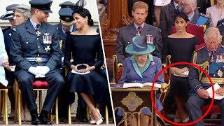 Meghan Markle Makes a Royal Faux Pas While Crossing Her Legs