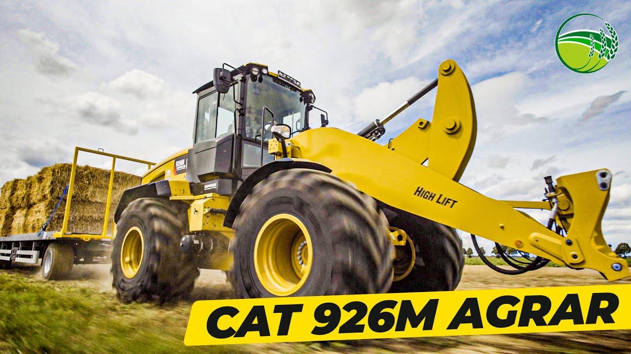 CAT 926M Agrar | Radlader mit Anhängerkupplung für die Landwirtschaft