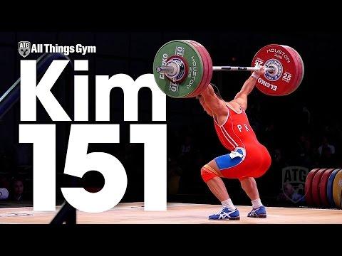 Kim Un Guk (62kg, North Korea) 151kg Snatch 2015 World Weightlifting Championships