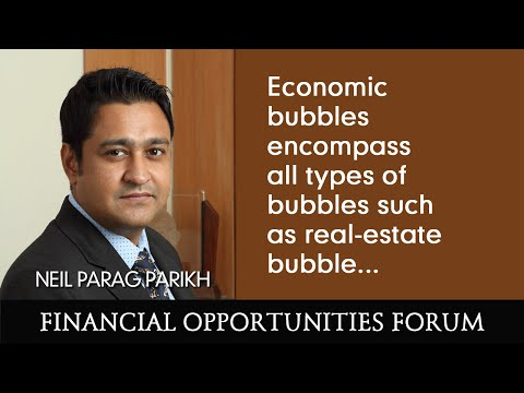 Economic bubbles encompass all types of bubbles such as real-estate bubble...