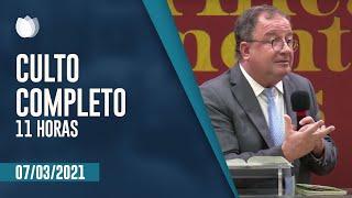 Culto Matutino 11h | Rev. Arival Dias Casimiro  | Igreja Presbiteriana de Pinheiros | IPP TV