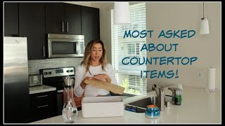 MOST ASKED ABOUT COUNTERTOP ITEMS! | House of X tia