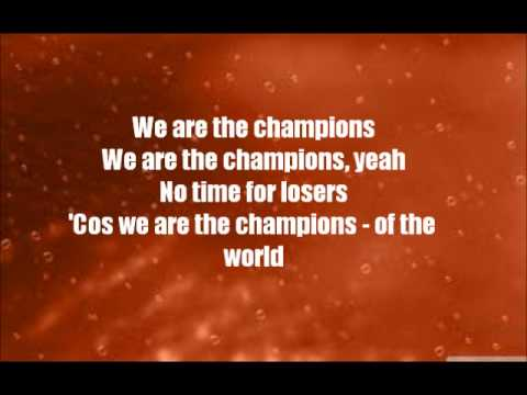 We Will Rock You: We Are The Champions
