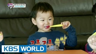 Triplets' House - Let's brush our teeth! (Ep.73 | 2015.05.03)