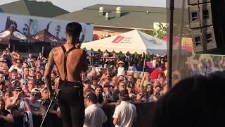 Andy Black  - Homecoming King | Warped Tour Indianapolis 7/20/17