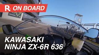 Kawasaki Ninja ZX-6R 636 2019 On Board Autodromo di Modena