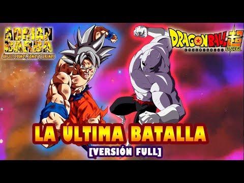 Adrián Barba - La Última Batalla (Ver. Full) Dragon Ball Super -insert Song-
