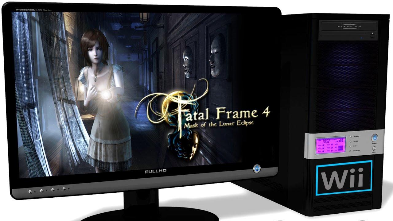 Dolphin 5.0 Wii Emulator - Fatal Frame 4 / Zero: Tsukihami no Kamen ...