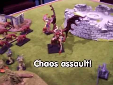Warhammer 40K battle 2, Chaos versus Inquisition