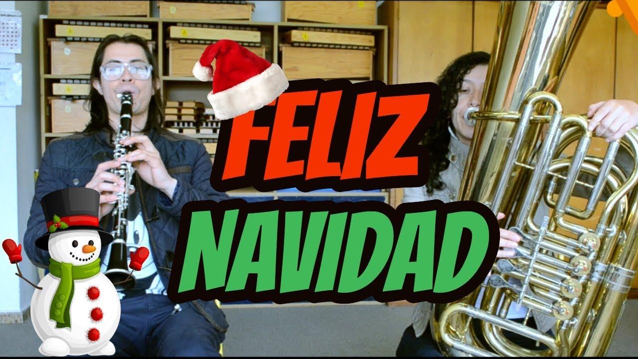 Feliz Navidad Clarinete.Feliz Navidad Merry Christmas Clarinete Tuba Chords