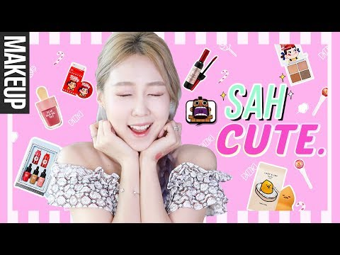 The CUTEST Korean Makeup You'll Want to Eat.. seriously. ??? + GIVEAWAY! 레알 먹고싶은 귀요미 끝판왕 화장품! thumbnail