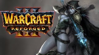 This Human Roleplays as an Undead Player! | WarCraft III Reforged