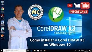 TUTORIAL - Como instalar o Corel DRAW X3 no Windows 10