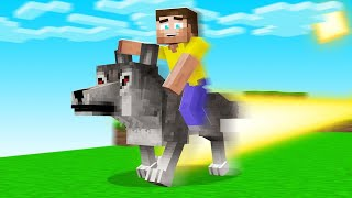 Pet DOGS With SUPERPOWERS In MINECRAFT! (insane)