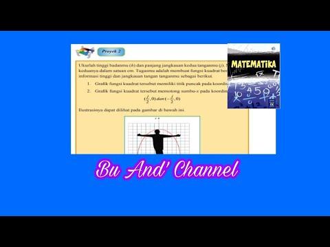 Tugas Proyek 2 Hal 128 Matematika Kelas 9 Bab 2 Persamaan Dan Fungsi Kuadrat Youtube