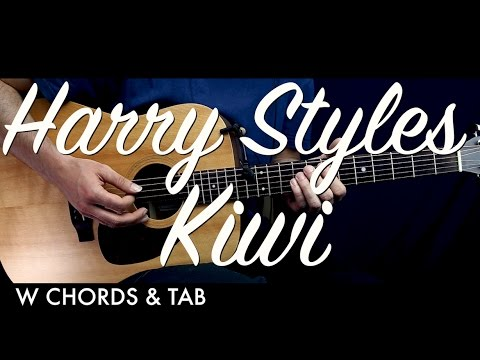 Harry Styles - Kiwi Guitar Tutorial Lesson w Chords & TAB / Guitar ...