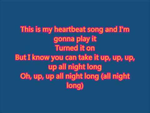 Kelly Clarkson - Heartbeat Song (Lyrics)