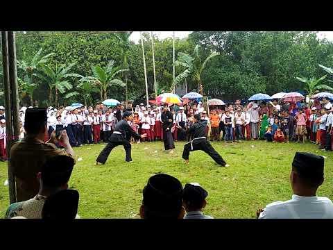 Super heboh terkini - penampilan siswa PSHT ketika merayakan HUT NKRI ke 72 - Tebo~jambi