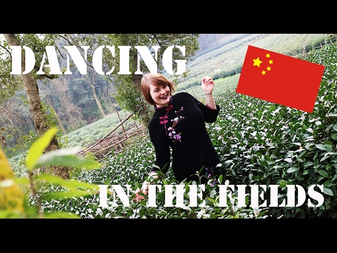 TRAVEL VLOG CHINA: Too Many Tourists and Dancing in Tea Fields //中国旅游: 杭州的游客太多了