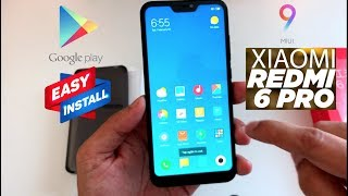 Xiaomi Smartphones: how to Install Google Play store on Chinese version ! (Mi A2 Lite)