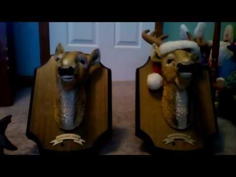 3 new singing fish/deer