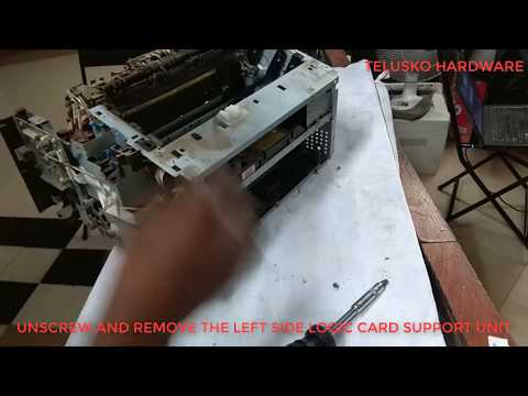 Hp laserjet m1136 full disassembly
