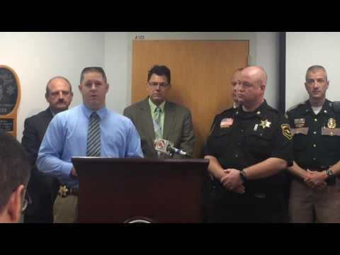 Marathon County Sheriff's Department Conference on Heroin Overdose Spike