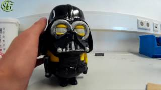 Part 4 - Darth Vader Minion 3D Druck Paint
