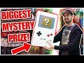 I Won The Arcade's Biggest Mystery Prize Box! Whats Inside? Shenaniganz ArcadeJackpotPro