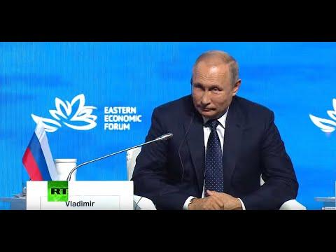 Putin, Modi address plenary session at Eastern Economic Forum in Vladivostok