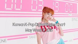 Korean Digital Singles Top30 (2016 May Week 5) (KPOP 음원순위 2016/05/29)