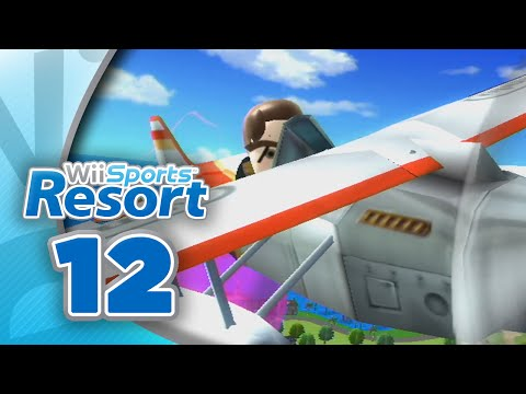 Wii Sports Resort: Part 12 | Air Sports (4-Player)