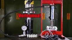 Verenpaine on pääasia - Hydraulic press Channel