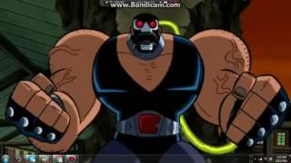 Batman And Wildcat Vs Bane (Batman The Brave And The Bold)