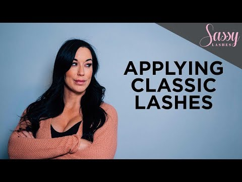 How To Apply Individual Lashes | False Eyelashes Tutorial