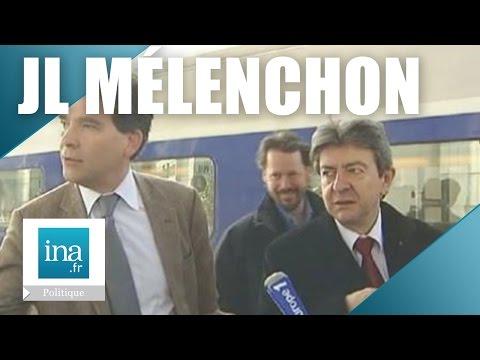 Jean-Luc Mélenchon et Arnaud Montebourg en campagne à Dole   Archive INA
