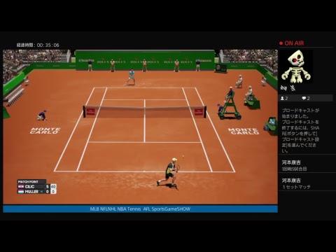PS4 AOtiins モンテカルロATP1000  CILIC-MULLER  1回戦第9試合