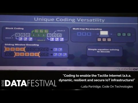 "Laila Partridge at BDF 2015 | ""Coding to enable the Tactile Internet"""
