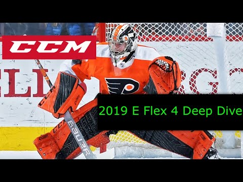 CCM EFlex 4 Goalie Gear Review + Release