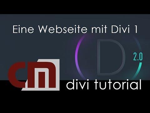 Eine Wordpress - Webseite mit Divi aufbauen - Teil 1