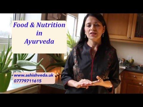 Food & Nutrition in Ayurveda