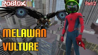 Roblox Indonesia | Heroes Of Robloxia | Melawan Si Vulture Part 2 😾😻