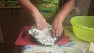 Запеканка из картошки с сосисками