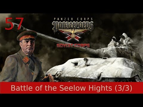 #57   Panzer Corps   Soviet Corps - Battle of the Seelow Hights (3/3)