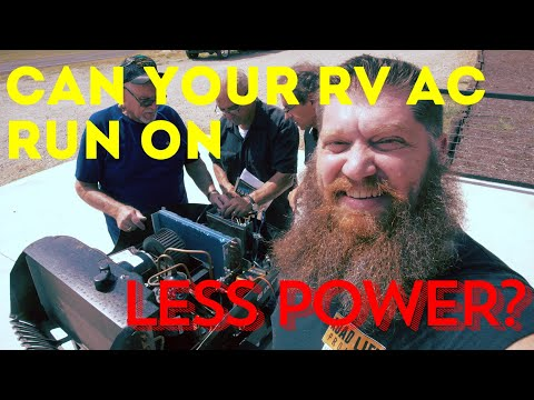 Can your RV Air Conditioner Run on Less Power S2 E7